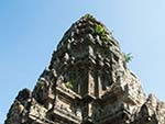 The central Angkor Wat spire