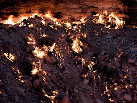Derweze gas crater - the door to hell