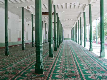 Inside Id Kah Mosque