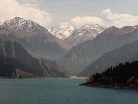 Bogda Shan range of the Tian Shan Mountains
