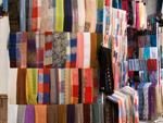 Colourful scarfs