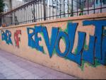 Power of Revolution graffiti