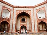 The main gate of Humayun's Tomb