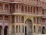 Chandra Mahal at the Jaipur City Palace