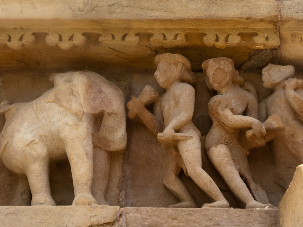Khajuraho erotic sculptures