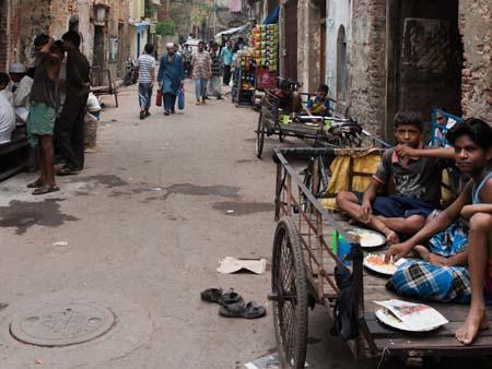 Children on the street of Kolkata