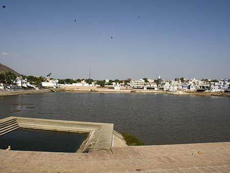 Pushkar Lake and the many Ghats