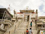 Elephant-flanked flight of steps Jagdish Temple
